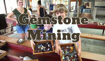 Gemstone Mining Button
