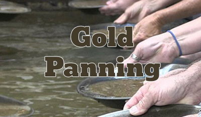Gold Panning Button